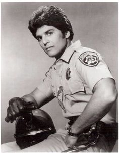 "Erik Estrada as Ponch on ""CHiPs"""
