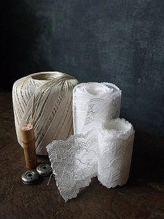 2 Yards of Vintage Lace