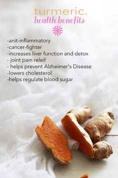 benefits of turmeric!