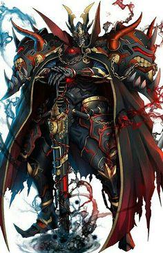 Fantasy Armor, Dark Fantasy Art, Anime Fantasy, Fantasy Character Design, Character Inspiration, Character Art, Armor Concept, Concept Art, Dark Warrior