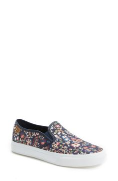 These floral Tory Burch sneakers would look so cute paired with distressed boyfriend jeans and a relaxed tee.