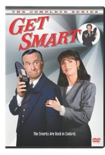 TV. Television. Comedies.  Get Smart (1965-1970) starred Don Adams as bumbling secret agent Maxwell Smart and costarred Barbara Feldon as his ever-patient partner, Agent 99.  Never failed to make me laugh out loud.  Get Smart was co-created by the brilliant Mel Brooks and the equally brilliant Buck Henry.