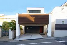 Architecture in Japan Custom Homes, Garage Doors, Japan, Architecture, Simple, Outdoor Decor, Modern, House, Natural