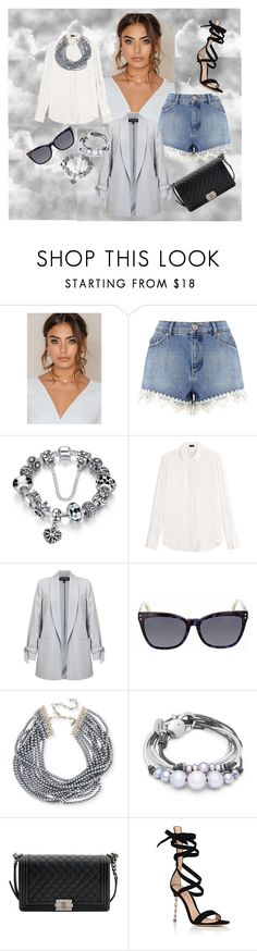"""""""Untitled #9"""" by azra-a ❤ liked on Polyvore featuring Miss Selfridge, Joseph, Fendi, Kenneth Jay Lane, Lizzy James, Chanel and Gianvito Rossi"""
