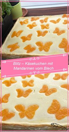 Blitz cheesecake with tangerines from the can RecipesB – Muffins children's birthday party If you're … Easy Cake Recipes, Healthy Dessert Recipes, Health Desserts, Baby Food Recipes, Dessert Food, Cheesecake, Queso, Yummy Cakes, Bakery