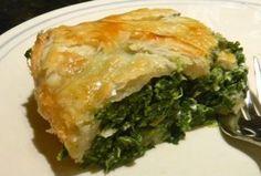 Greek Recipes, Pie Recipes, Spinach Tart, Yummy Food, Tasty, Spanakopita, Superfoods, Ethnic Recipes, Greece