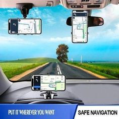 This dashboard phone holder will still keep you concentrated on the road even you are navigating, picking up a phone call, or switching music. Get it today for a great price! Cool Gadgets To Buy, Car Gadgets, Car Phone Mount, Car Mount, Dashboard Phone Holder, Phone Cradle, Support Telephone, Jeep Wrangler Accessories, Pt Cruiser