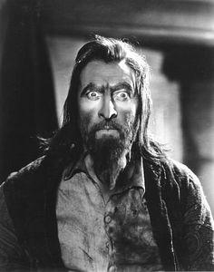 """John Barrymore in """"Svengali"""" (1931)"""
