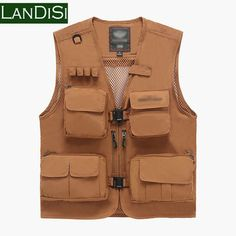 New Arrivals Brand Men Plus Size M-3XL High Quality Cotton 4 Pockets Outdoor Fishing Vest Men Military Casual Vest 882b - http://www.aliexpress.com/item/New-Arrivals-Brand-Men-Plus-Size-M-3XL-High-Quality-Cotton-4-Pockets-Outdoor-Fishing-Vest-Men-Military-Casual-Vest-882b/32413153179.html