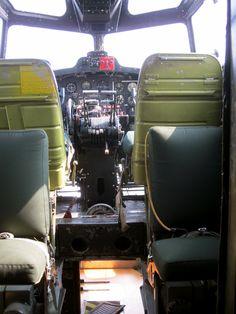 cockpit of B-17  (© 2012 Susan Ashley Michael)