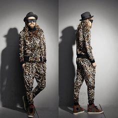 Leopard (by LEE INWON) http://lookbook.nu/look/4289229-Leopard