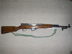 SKS Romanian Model 56 Rifle 1960 7.62x39 : Bolt Action Rifles at GunBroker.com