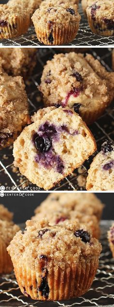 These BLUEBERRY CRUMB MUFFINS are soft, full of juicy blueberries, and have the most delicious CRUMB topping. Easy to make and just as good as the bakery!