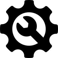 Repairing Service free vector icons designed by Freepik Vector Icons, Vector Free, Painting Logo, Icon Design, Logo Design, Mobile Phone Logo, Bike Logo, Craft Images, Garage Art