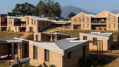 Bayalpata Hospital is a medical complex in Achham, Nepal, built from rammed earth by American architecture office Sharon Davis Design. Sharon Davis, Rammed Earth, Architecture Office, Building Design, Nepal, Mansions, House Styles, Home Decor, Manor Houses