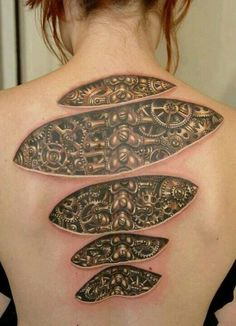 Steampunk tattoo - This is pretty awesome