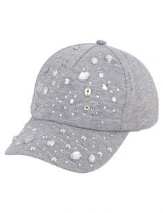 98231b6f2d3 Embellished Baseball Cap Fashion Hub