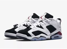4f64ac208b2 Nike Air Jordan VI 6 Retro Low GG 768878-107 Youth size 6.5Y