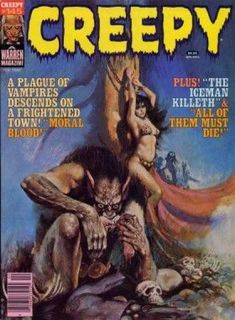 Moral Blood - Creefy - Warren Magazine - Vampires - The Iceman Killeth