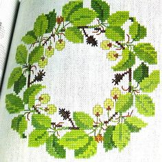1973 Cross-Stitch Pattern book
