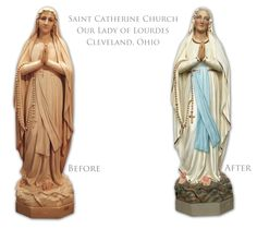 Our Lady of Lourdes from St. Catherine's in Cleveland, OH