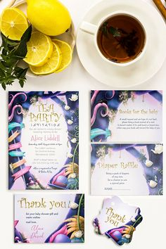 Celebrate the impending birth of your baby girl with an Alice in Wonderland tea party themed baby shower. Impressive, colorful illustration, inspired by the most beloved book of Lewis Carroll, will make your guests feel like they are in a fairytale. Baby Shower Themes, Shower Ideas, Alice Liddell, Beloved Book, Tea And Books, Alice In Wonderland Tea Party, Diaper Raffle, Lewis Carroll, Special Day