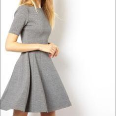 Zara Gray Skater Dress Zara skater dress in grey, size small. Perfect condition! Zara Dresses