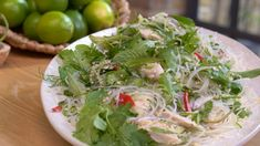 Get all the recipes from John and Lisa's Weekend Kitchen. John Torode and Lisa Faulkner host Sunday mornings from their cosy kitchen Thai Chicken Salad, Onion Chicken, Chicken Salad Recipes, Glass Noodle Salad, Summer Salads, Kitchen Recipes, How To Cook Chicken, Bbc Recipes, Recipies