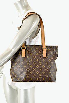 1addf0813340 Details about Guar Auth Classic LOUIS VUITTON Monogram  CABAS MEZZO  Tote  Handbag 9.5