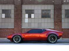 1972 DeTomaso Pantera.  This is the car that made me like cars.
