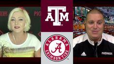 Alabama at Texas A&M 10/3/20 - College Football Picks & Odds #PicksParlays #SEC Alabama Vs, Alabama Crimson Tide, College Football Picks, Texas A&m, Baseball Cards