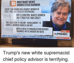 Is it possible to allow white supremacists and woman-haters to traffic on your website and still be considered something less awful? I asked a few people who have known him well for some time if there's more to Bannon than meets the eye. There usually is, isn't there?