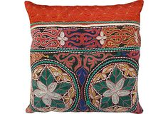 Antique Turkish Textile Pillow II