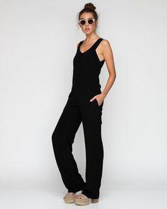 Black Jumpsuit by Alexander Wang