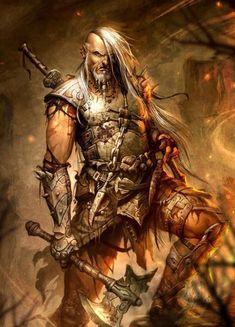 Resultado de imagem para viking fantasy art