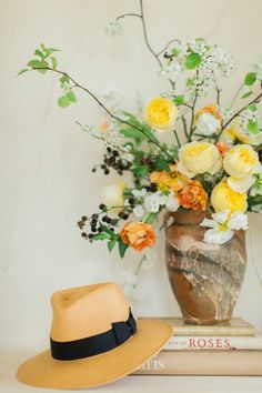 the language of flowers | workshop with ashley bailey & ginny branch | photo by Haley Sheffield