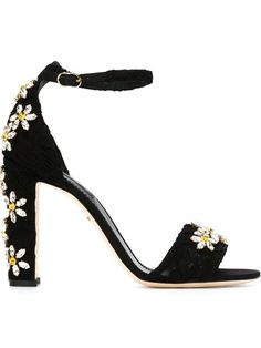 Shop Dolce & Gabbana daisy embellished sandals in Vinicio from the world's best independent boutiques at farfetch.com. Shop 400 boutiques at one address.