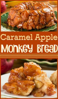 Caramel apples are a fall staple, and we've taken those classic flavors and put them into this fabulous monkey bread recipe! Caramel apples are a fall staple, and we've taken those classic flavors and put them into this fabulous monkey bread recipe! Apple Desserts, Apple Recipes, Fall Recipes, Bread Recipes, Cooking Recipes, Kid Cooking, Healthy Recipes, Breakfast Items, Breakfast Recipes