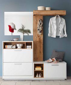 Garderobenset Milano - im Bilderreich - Wohnmöbel Entryway Furniture, New Furniture, Entryway Decor, Furniture Design, Furniture Ideas, Furniture Dolly, Entry Foyer, Office Furniture, Small Hallways