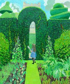 Girl in the Garden by #Sheila #Smithson
