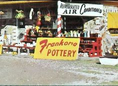 Frankoma Pottery in the good old days.
