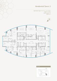 An amazing 8,000+ sq ft Penthouse in Etihad Towers, Abu Dhabi!