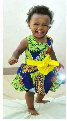 Ankara Gown For Kids - DeZango Fashion Zone