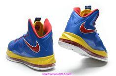 promo code c29fa 2db01 Lebron 10 Lebron James Shoes 2013 Royal Blue Varsity Red Yellow 541100 001  Adidas Running Shoes