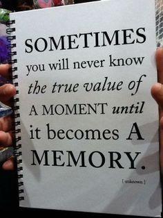 small moments make big memories!