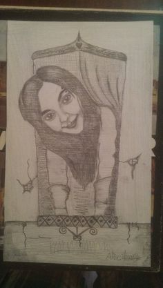Mon dessin, une copine.21. 05. 2015.