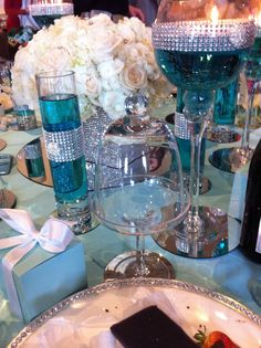 Breakfast at Tiffany's theme table at #BayKids Studios.