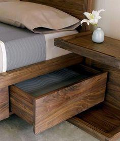 Genius Rustic Storage Bed Design Ideas - Page 34 of 51 - Abantiades Decor Home Bedroom, Bedroom Furniture, Diy Furniture, Bedroom Decor, Furniture Projects, Furniture Makeover, Furniture Storage, Furniture Online, Bedroom Designs