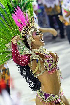 Musas do Carnaval de Rio de Janeiro    My favorite Samba School Mangueira