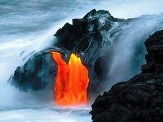 Puu Oo del volcán Kilauea